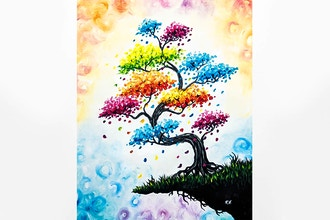 Paint Nite: Prismatic Bonsai