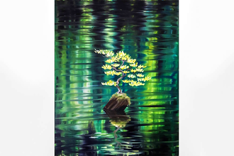 Paint Nite: Reflections of Spring