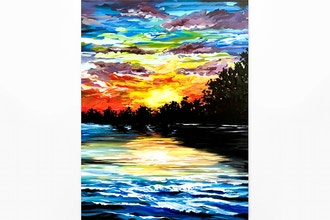 Paint Nite: Riverside Rainbows