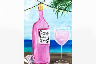 Paint Nite: Rose All Day