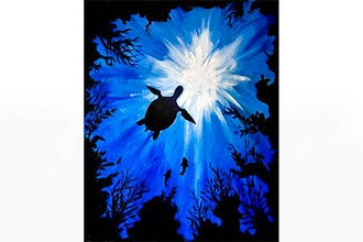 Paint Nite: Sea Turtle