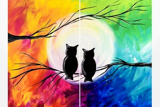 Paint Nite: Seasons of Love Partner Painting
