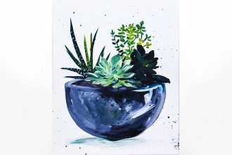 Virtual Paint Nite: Simple Succulents (Ages 13+)