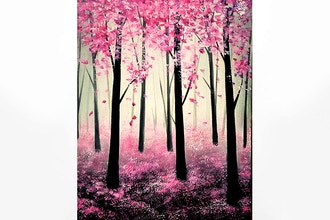 Paint Nite: Spring Forest
