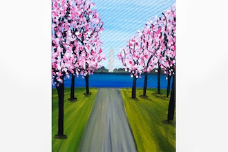 Paint Nite: Spring in DC