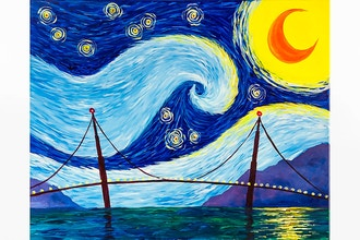 Paint Nite: Starry Golden Gate
