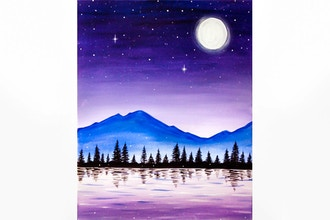 Paint Nite: Starry Skies & Fireflies