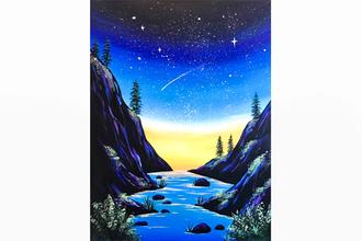 Paint Nite: Starry Valley