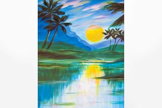 Paint Nite: Sultry Tropical Sunset