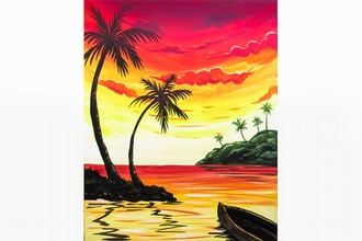 Paint Nite: Sunset Getaway