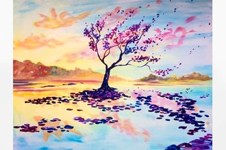 Paint Nite: Sunset Serenity