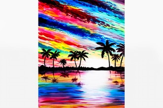 Paint Nite: Tahitian Sunrise