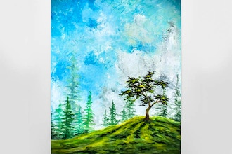 Paint Nite: Top Of The Hill