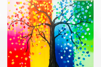 Paint Nite: Tree Of All Seasons
