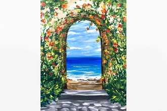 Paint Nite: Tropical Ocean Arch