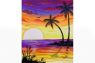 All Ages Paint Nite: Tropical Pleasures