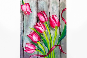 Paint Nite: Tulip Bouquet