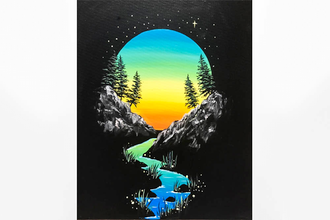 Paint Nite: Twilight Vignette