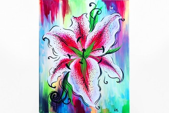 Paint Nite: Whimsical Tiger Lily