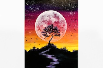Paint Nite: Wind Swept Dusk (Ages 18+)