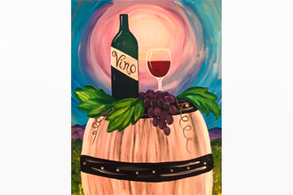 Paint Nite: Wine Barrel
