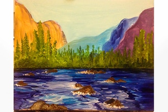 Paint Nite: Yosemite