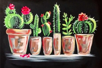 Paint Nite: Cactus Collection II