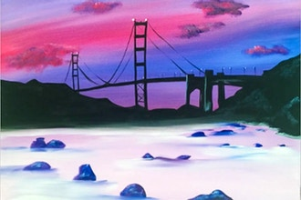 Paint Nite: Baker's Beach SF