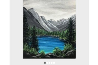 Paint Nite: Peaceful Mountain Lake