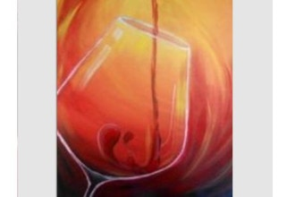 Paint Nite: Red Wine
