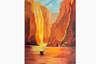 Paint Nite: Parks: Canyon Glow Crossing