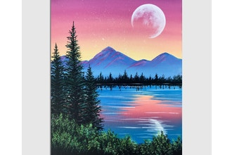 All Ages Paint Nite: Peaceful Pine Lake