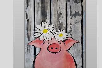 All Ages Paint Nite: Lil Barnwood Piggie