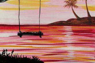 Pink Sunset Swing