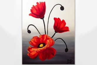 Paint Nite: Pop Pop Poppies