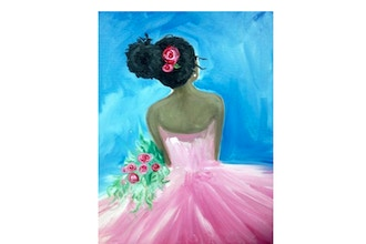 All Ages Paint Nite: Pretty in Pink III