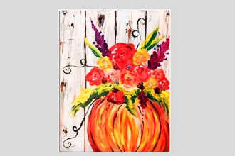 Paint Nite: Pumpkin Bouquet