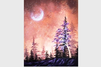 Paint Nite: Purple Fantasy