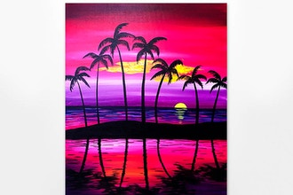 Paint Nite: Purple Serenity