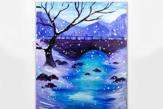 Quiet Winter Bridge (Ages 6+)