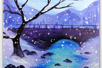 Quiet Winter Bridge (Ages 6+)