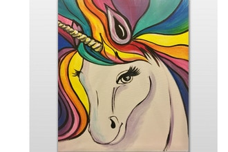All Ages Paint Nite: Rainbow The Unicorn