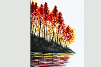 Paint Nite: Reflections Of Autumn