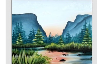 Paint Nite: River to the Sun