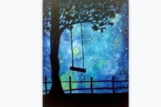 Paint Nite: Rope Swing Galaxy