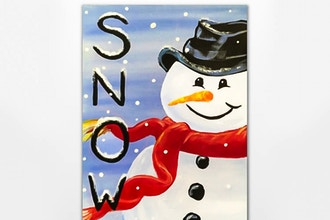 Snowman With A Red Scarf (Ages 13+)