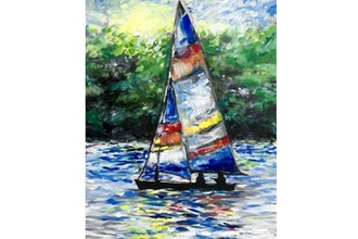 Paint Nite: Sailing Splendor