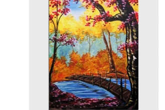 Paint Nite: Secret Fall Bridge