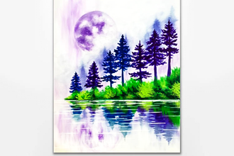 Paint Nite: Serene Reflections