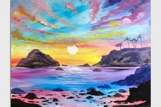 Paint Nite: Serene Sunset II